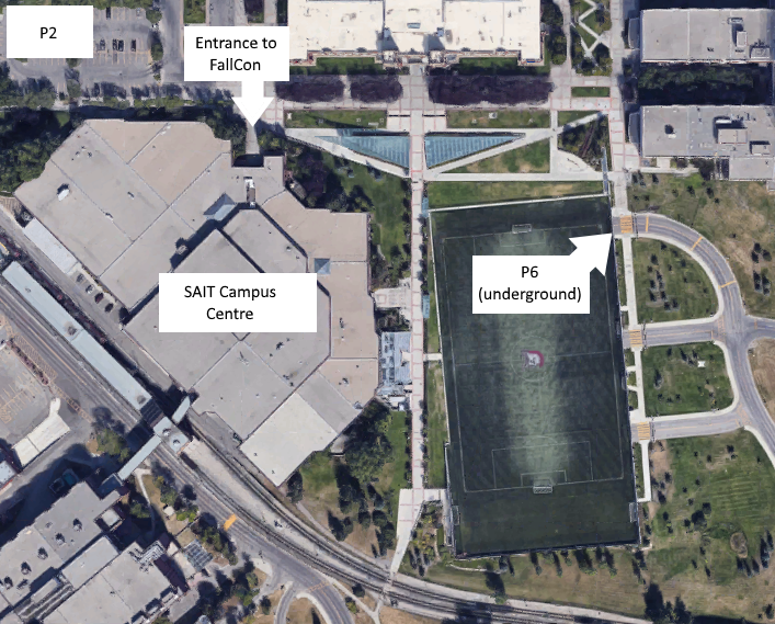 Map of SAIT Campus Centre